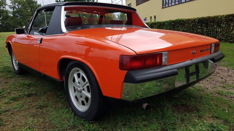 Porsche 914 2.0 Cabrio 1973